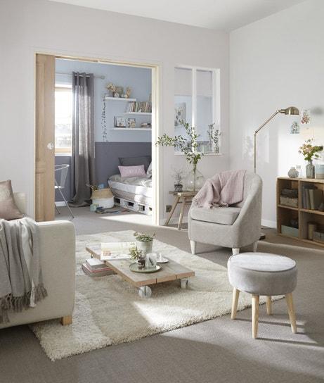 Un salon cosy au style scandinave