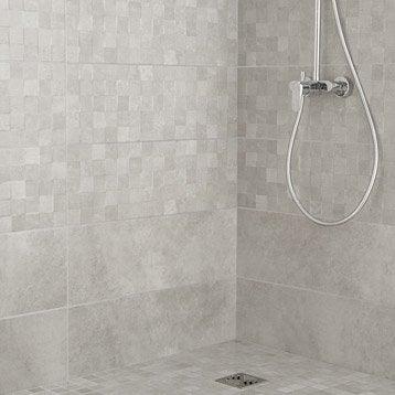 Carrelage mural et fa ence pour salle de bains et cr dence - Carrelage douche italienne castorama ...