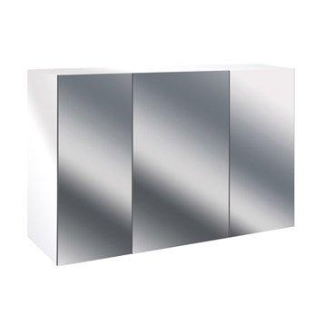 armoire de toilette armoire salle de bains au meilleur prix leroy merlin. Black Bedroom Furniture Sets. Home Design Ideas
