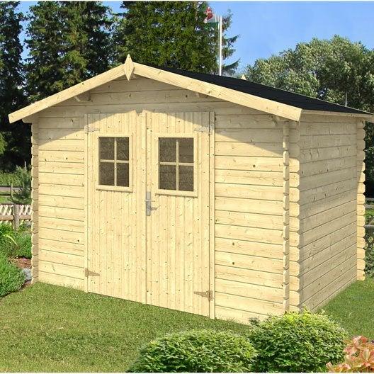 abri de jardin bois m tal r sine leroy merlin. Black Bedroom Furniture Sets. Home Design Ideas