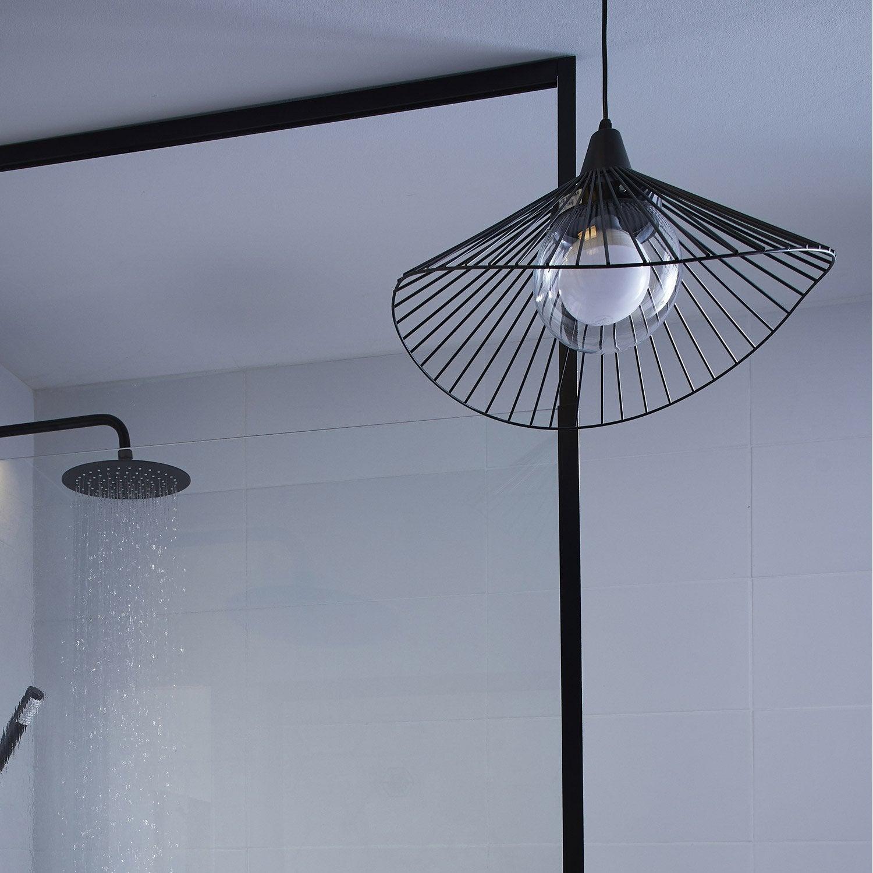 Suspension Kasteli, Sans ampoule, noir  E27 INSPIRE