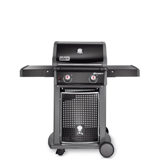 barbecue au gaz weber spirit class e210 noir leroy merlin. Black Bedroom Furniture Sets. Home Design Ideas