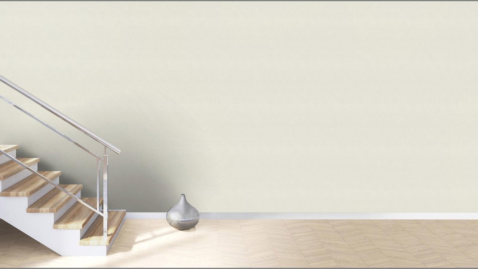 Papier peint intissé Sand Béton blanc