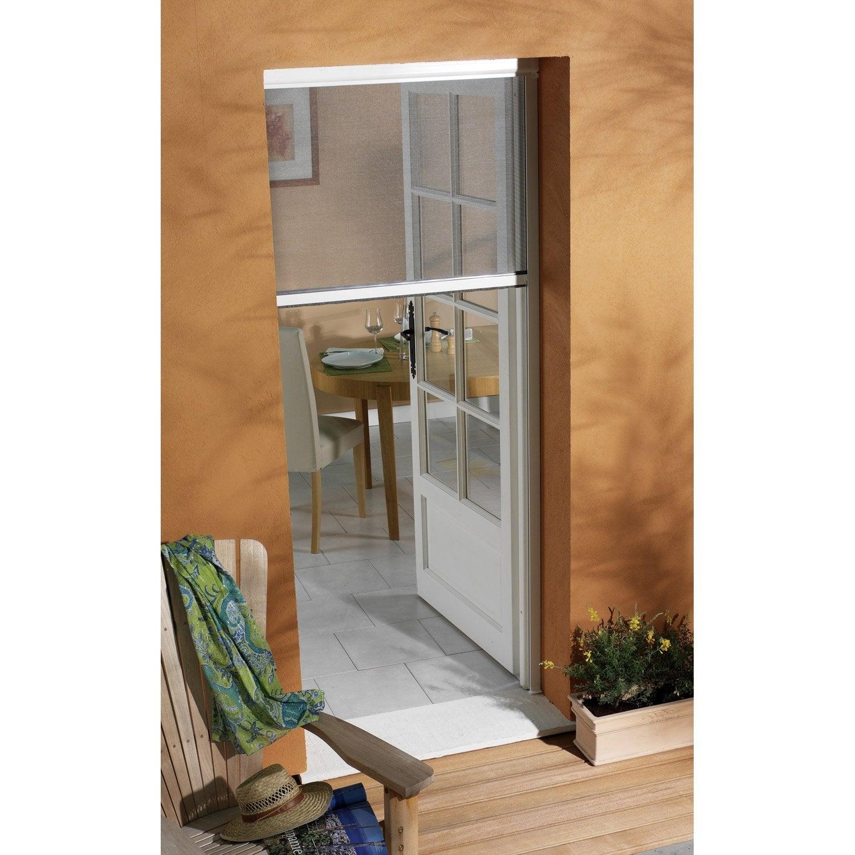 Superieur Moustiquaire Pour Porte Fenêtre à Enroulement Vertical MOUSTIKIT H.230 X  L.150cm