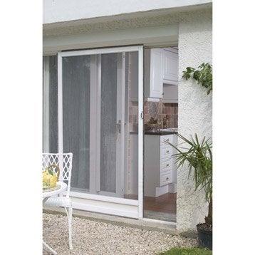 Moustiquaire et rideau de porte au meilleur prix leroy - Moustiquaire pour baie vitree ...
