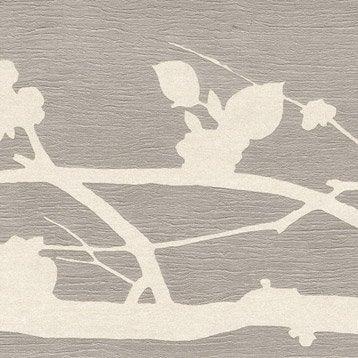 Frise vinyle expansé papier Solitude L.5 m x l.17.5 cm