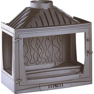 foyer bois chemin e au meilleur prix leroy merlin. Black Bedroom Furniture Sets. Home Design Ideas