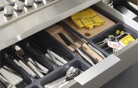 Tout savoir sur le rangement dans la cuisine leroy merlin for Range couteau cuisine