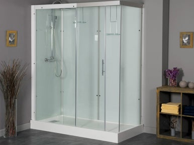 Comment installer une cabine de douche leroy merlin - Comment installer une douche a l italienne ...