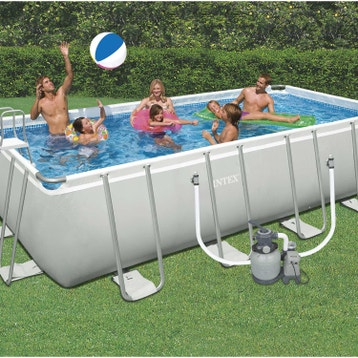 Piscine Hors Sol Tubulaire Gonflable Leroy Merlin