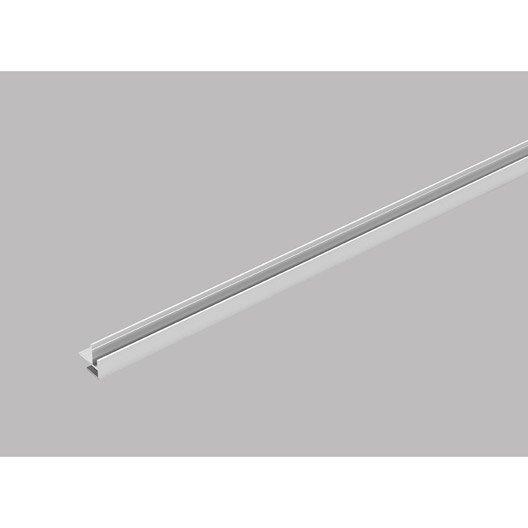 Profil de d part et finition pour lambris pvc 2 5 x 2 6 cm for Corniche led leroy merlin
