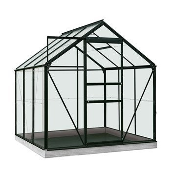 Serre de jardin mini serre verre horticole au meilleur - Serre de jardin 6m2 ...