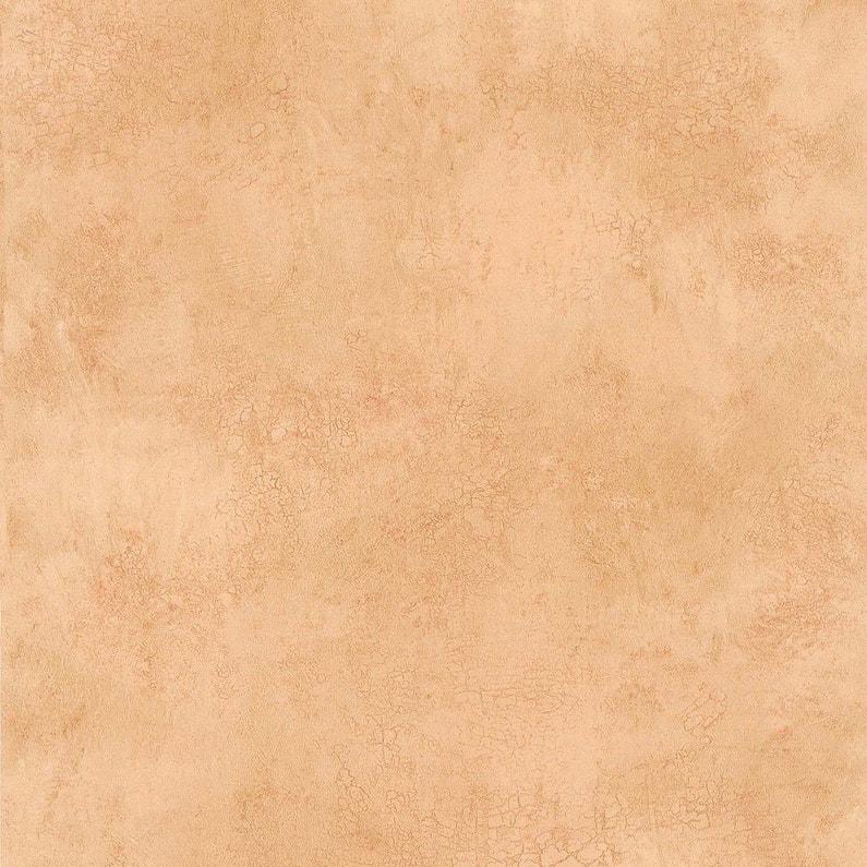 Papier Peint Terre De Sienne Orange Intisse Cuisine Et Bain Leroy