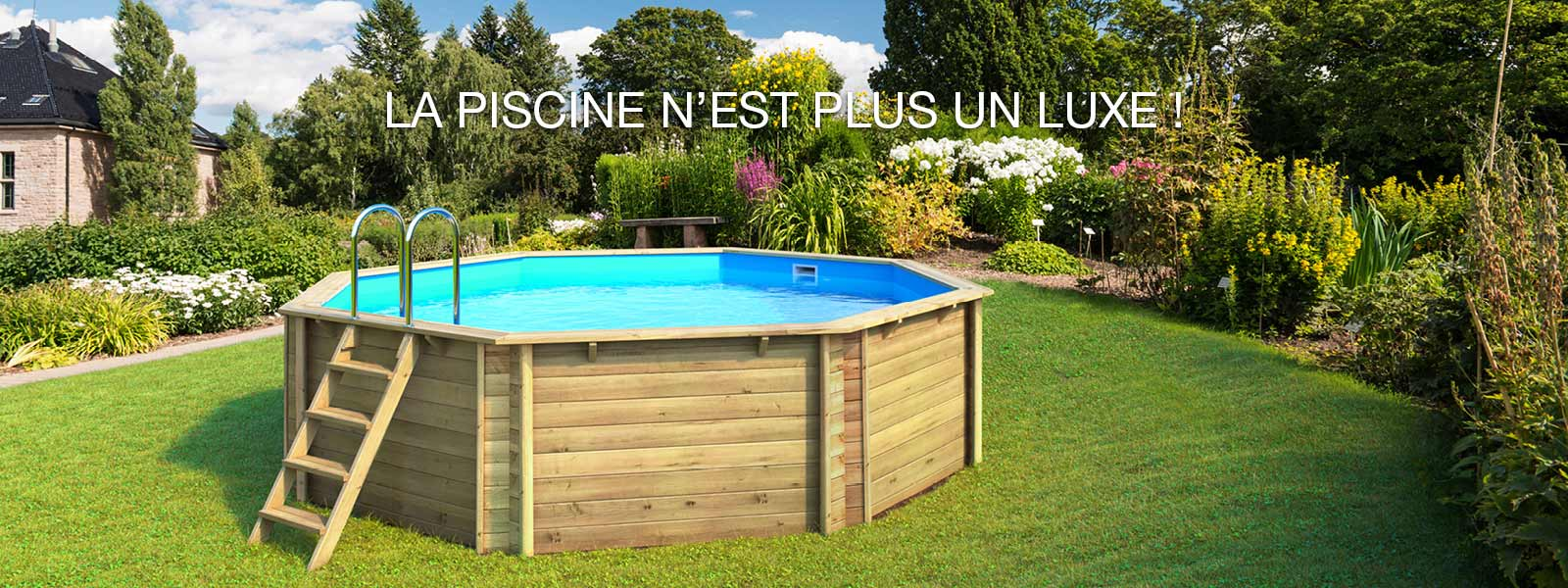 Piscine en bois semi enterre leroy merlin piscine bois for Piscine en bois leroy merlin