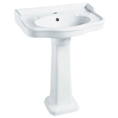 Colonne pour lavabo en céramique, blanc Victoria | Leroy Merlin