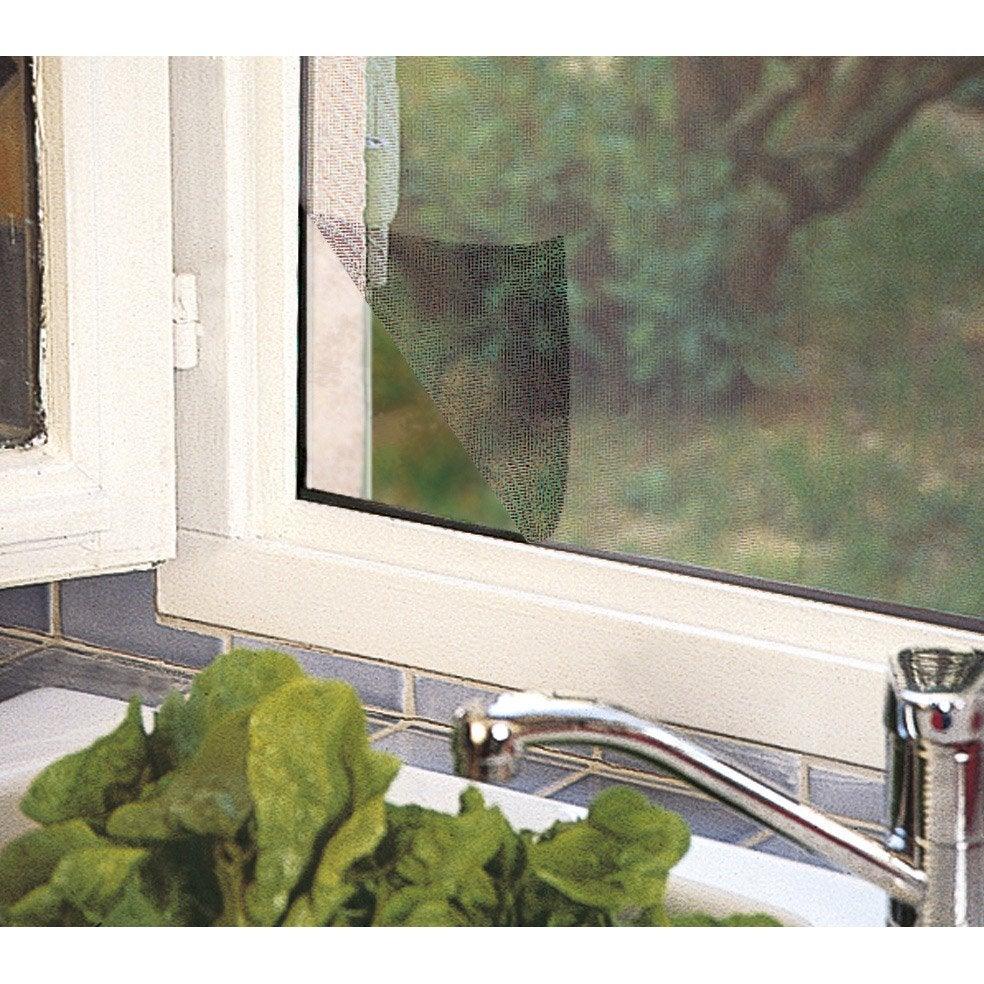 moustiquaire pour fen tre avec fixation auto agrippante. Black Bedroom Furniture Sets. Home Design Ideas