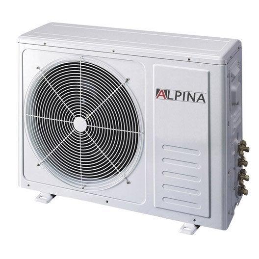 climatiseur fixe pack monosplit 5501 alpina 3600w leroy. Black Bedroom Furniture Sets. Home Design Ideas