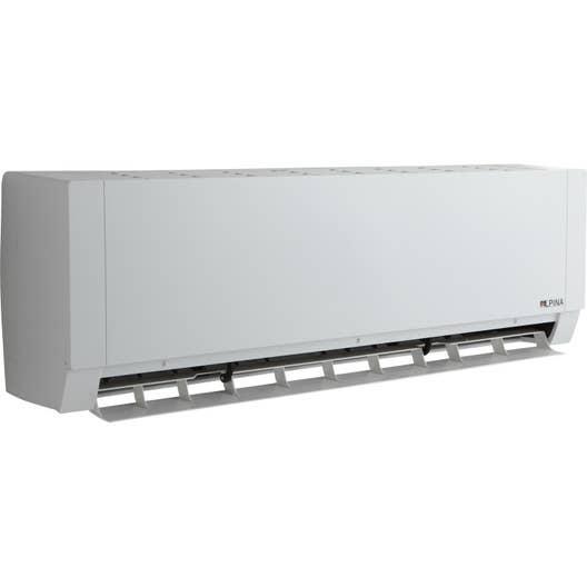 climatiseur fixe pack monosplit 5502 alpina 5200w leroy. Black Bedroom Furniture Sets. Home Design Ideas