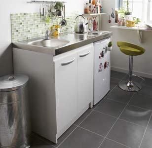 tout savoir sur l 39 am nagement d 39 une petite cuisine leroy merlin. Black Bedroom Furniture Sets. Home Design Ideas
