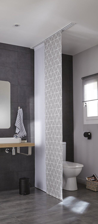 Panneaux japonais dans votre salle de bains | Leroy Merlin