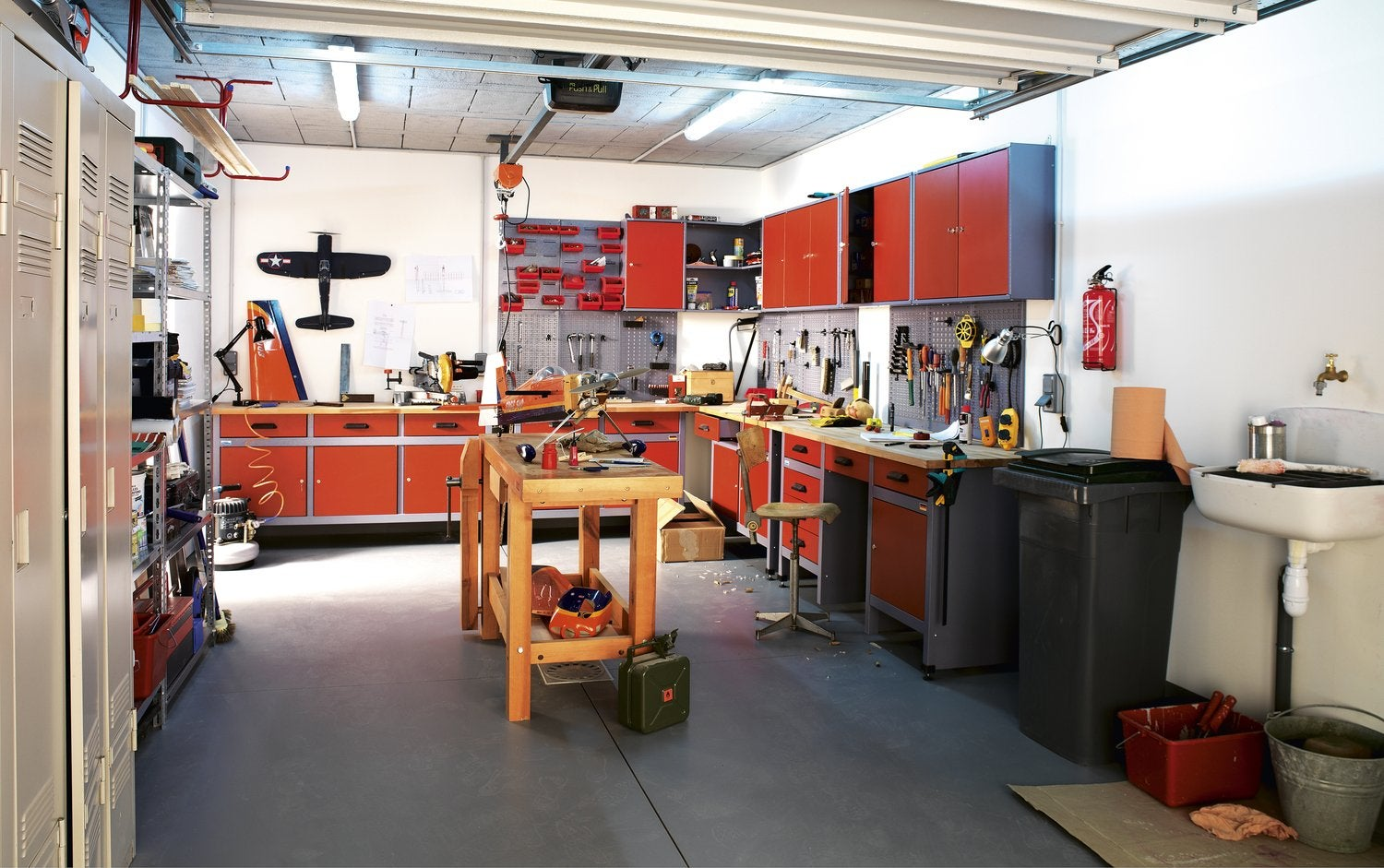 Amenager un garage en atelier - Amenagement garage atelier ...