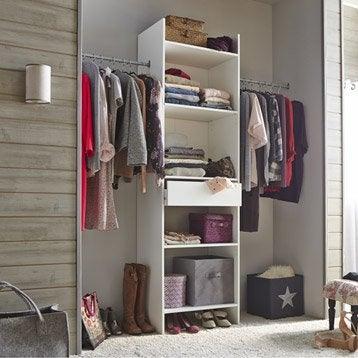 Pose et installation domicile leroy merlin - Element pour dressing ...