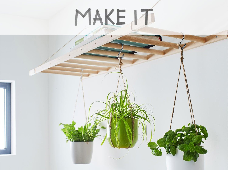 DIY : Créer un jardin suspendu en bois