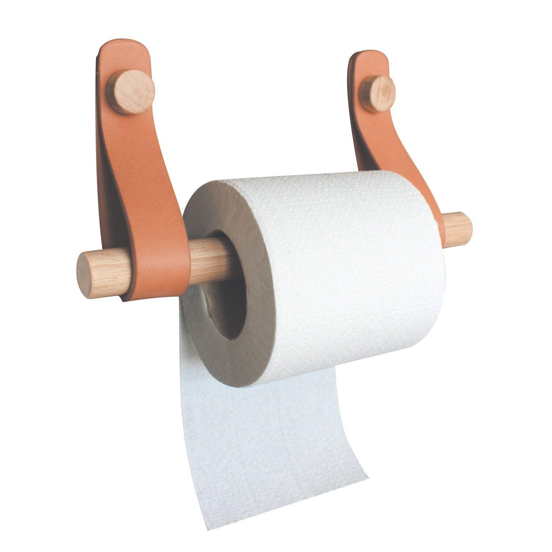Dérouleur papier toilette bois capsule