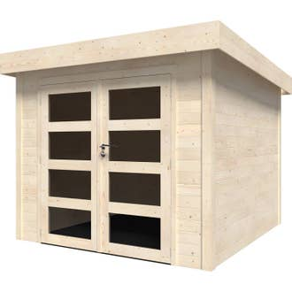 Abri de jardin bois Tepsa 2, 5.44 m² Ep.28 mm | Leroy Merlin