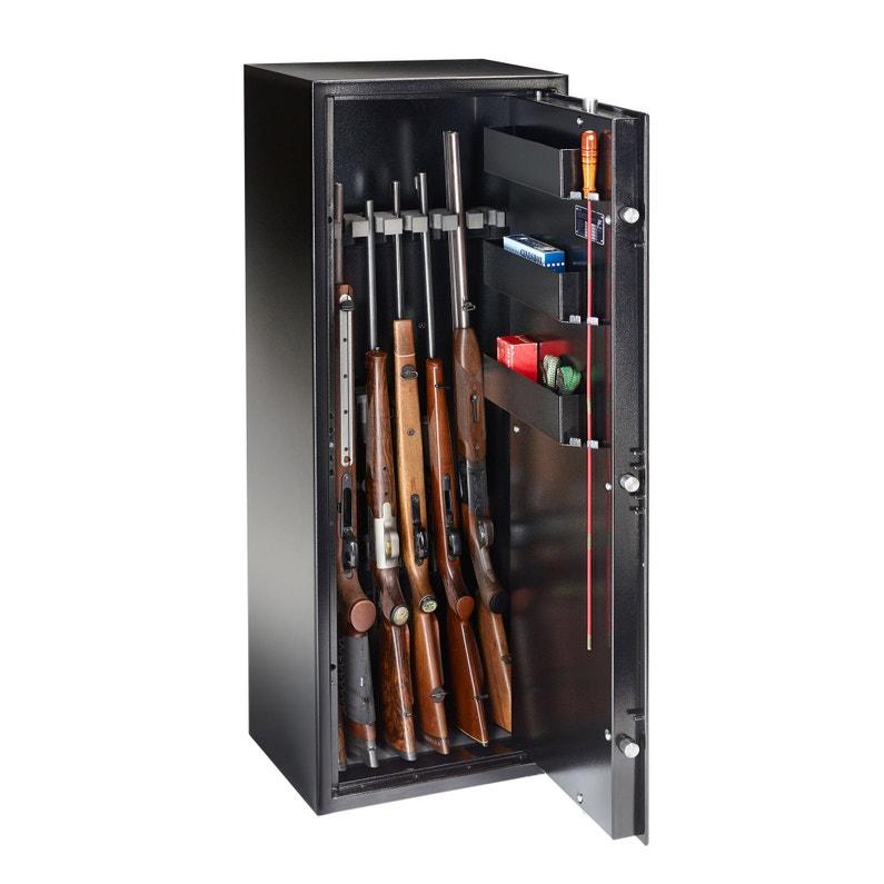 Armoire à 7 Fusils à Code Burg Wächter Ranger N 7 E H130 X L472 X P368 Cm