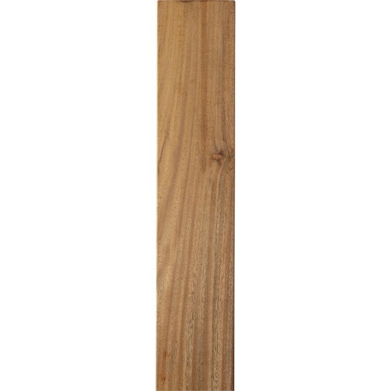 planche bois tali naturel x cm x mm leroy merlin. Black Bedroom Furniture Sets. Home Design Ideas