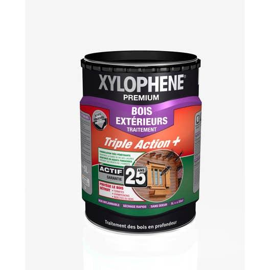 traitement du bois ext rieur xylophene premium 25 ans 5 l leroy merlin. Black Bedroom Furniture Sets. Home Design Ideas