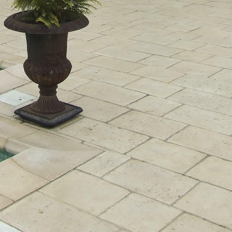 Enceinte Wifi Pour Salle De Bain ~ dalle pierre reconstitu e opus romain ton pierre multiformat