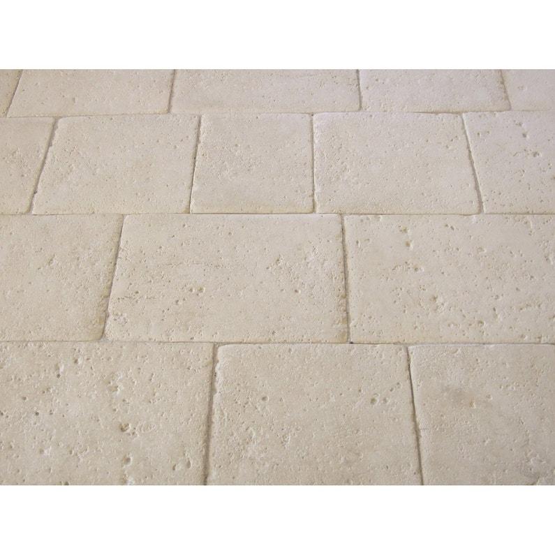 Dalle pierre reconstituée Opus romain, ton pierre, multiformat ...