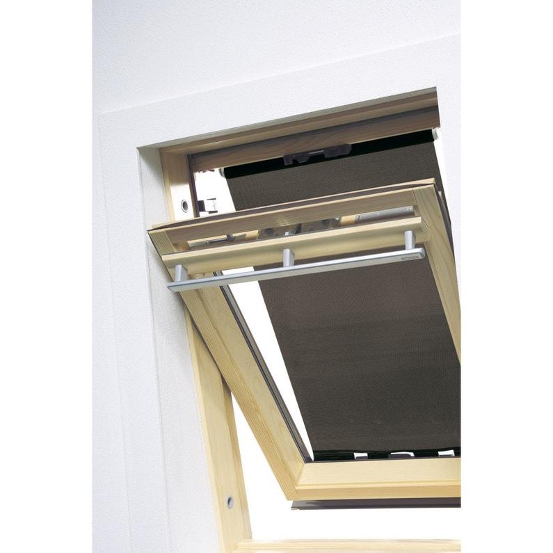store fen tre de toit pare soleil ext rieur noir artens. Black Bedroom Furniture Sets. Home Design Ideas