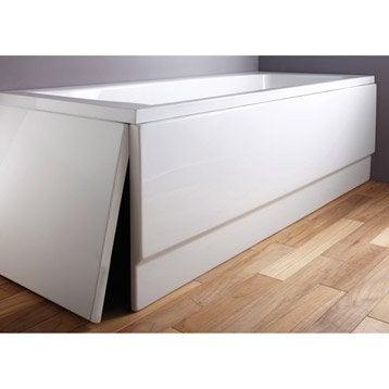 Tablier de baignoire L.140x l.70 cm blanc Nere/access