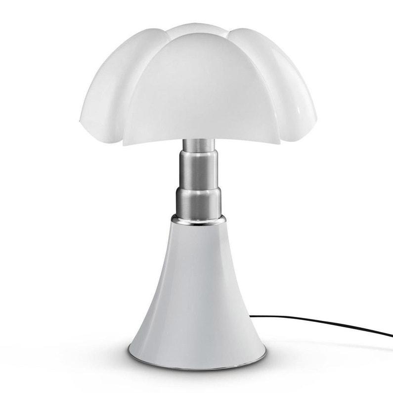 Lampe Design Pipistrello Blanc Ampoule Led Integrée Dimmable H66 88cm