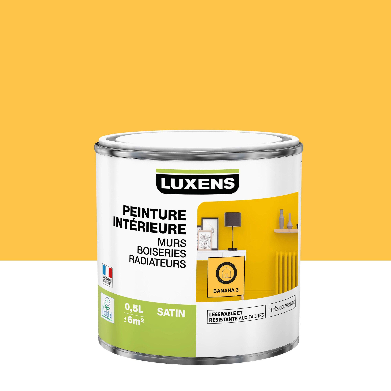 Peinture mur, boiserie, radiateur toutes pièces Multisupports LUXENS, banana 3,