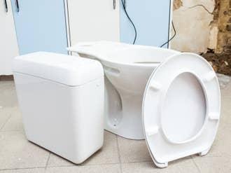 Abattant Frein De Chute Déclipsable Blanc Plastique
