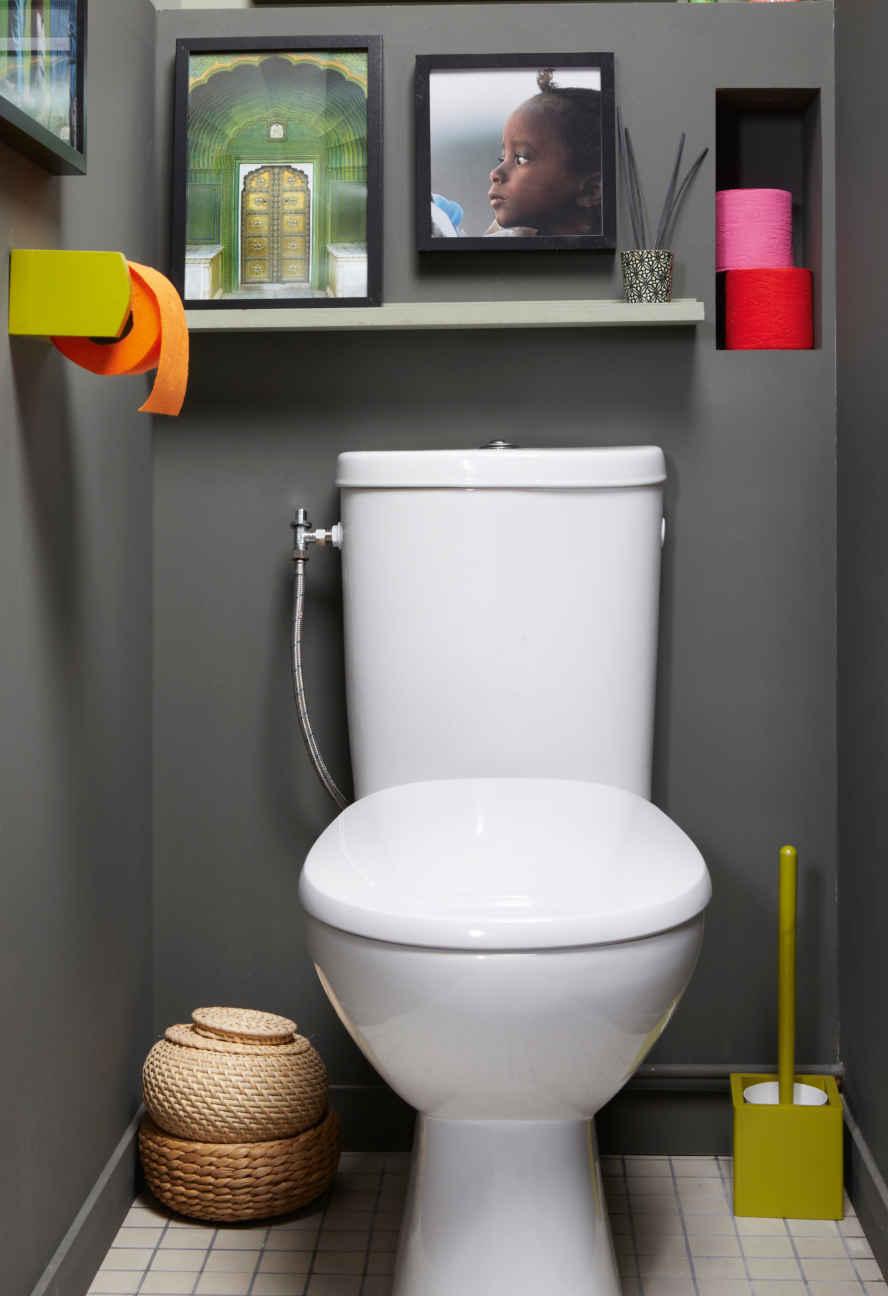 Ordinary Wc Handicape Leroy Merlin #4: Lu0027encombrement Du WC