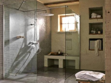 Douche salle de bains leroy merlin for Grande douche a l italienne