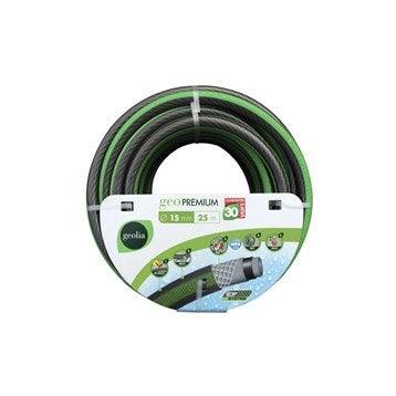 Tuyau d'arrosage nu GEOLIA Premium L.25 m Diam.14.5 mm