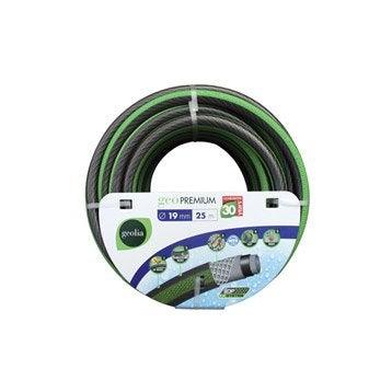 Tuyau d'arrosage nu GEOLIA Premium L.25 m Diam.18.5 mm