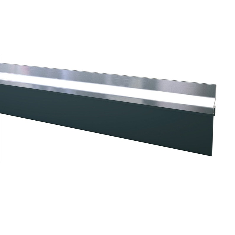 Bas De Porte à Visser Brosse Axton L100 Cm Aluminium