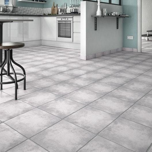 carrelage sol et mur gris clair effet pierre romanciere x cm leroy merlin. Black Bedroom Furniture Sets. Home Design Ideas