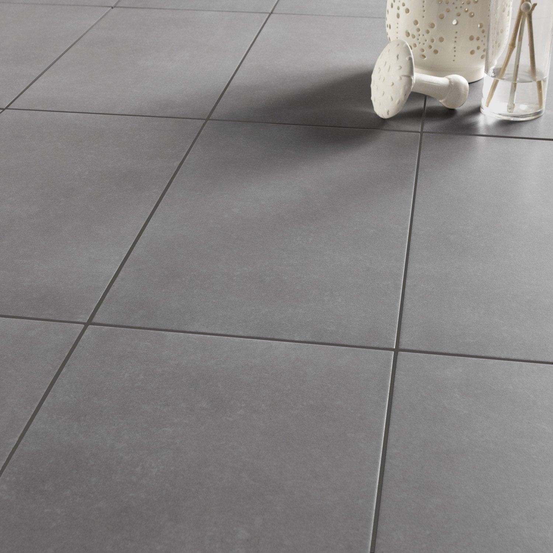 Carrelage sol et mur gris moyen effet b ton shade x for Carrelage 30x30 beige