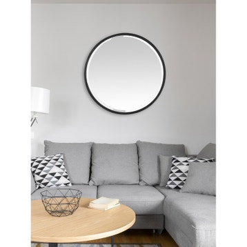 miroir design industriel miroir mural sur pied au. Black Bedroom Furniture Sets. Home Design Ideas