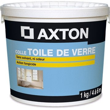 Colle toile de verre Prête à l'emploi AXTON, 1 kg