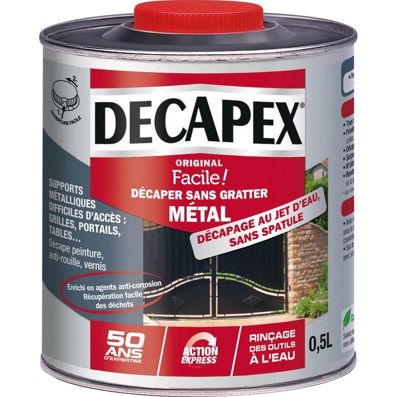 Décapant Métal Decapex Sans Grattage 05 L