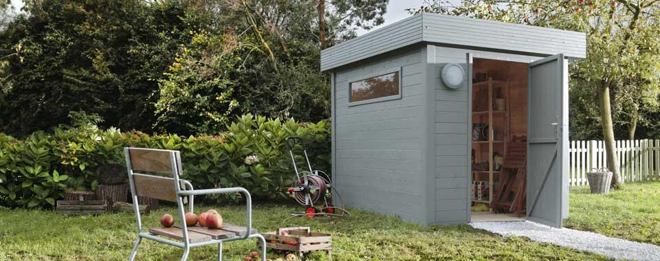 Construire Un Petit Abri De Jardin. Abri De Jardin Bois Bike Box